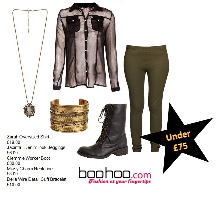 GET THE MILITARY LOOK!