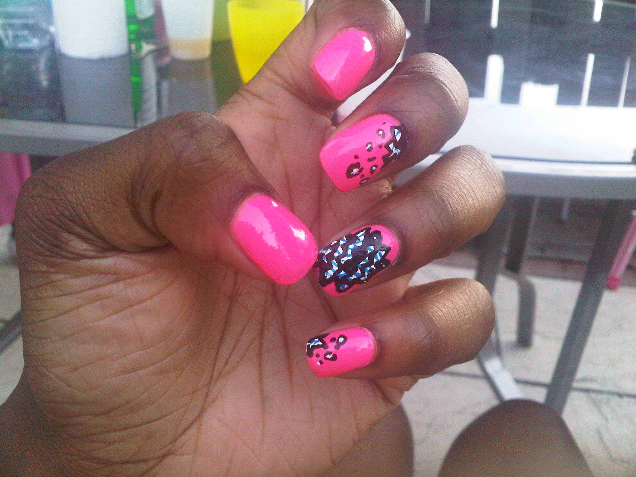 MY NAIL ART: AFRICAN PRINT INSPIRED NAILS!! – Erica Matthews
