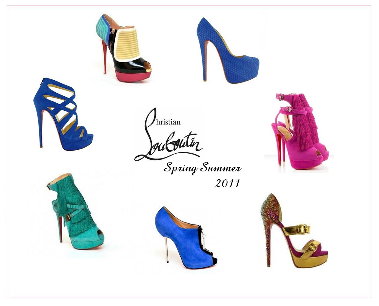 SNEAK LOOK AT CHRISTIAN LOUBOUTIN SPRING SUMMER 2011 COLLECTION