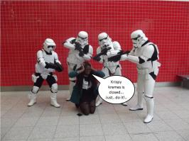 Fashion Krispy Kremes BINTM Star trek 2012 aw trend