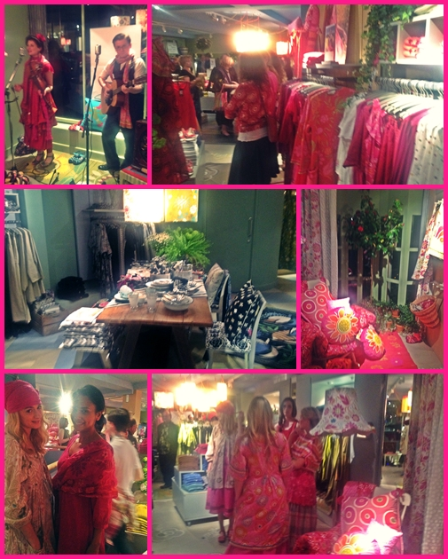 Heaven Is All Around Live Kaylee Erica: DESIGNER GUDRUN SJODEN'S FLAGSHIP STORE!!