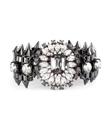 bling bracelet london fashion stylist erica matthews style expert pride magazine february 2013 valentines day outfit ideas 5