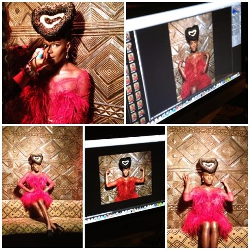 Shingai shoniwa black hair magazine Natalia kaut 2012 3