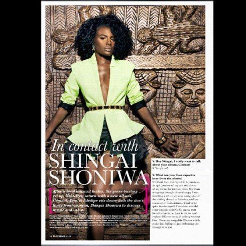 Shingai shoniwa black hair magazine Natalia kaut 2012 5