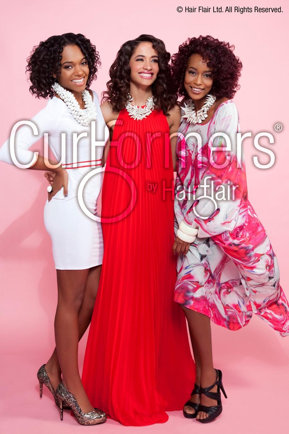 Black hair Magazine Curlformers Cover April May 2013 Fashion stylist Erica Matthews