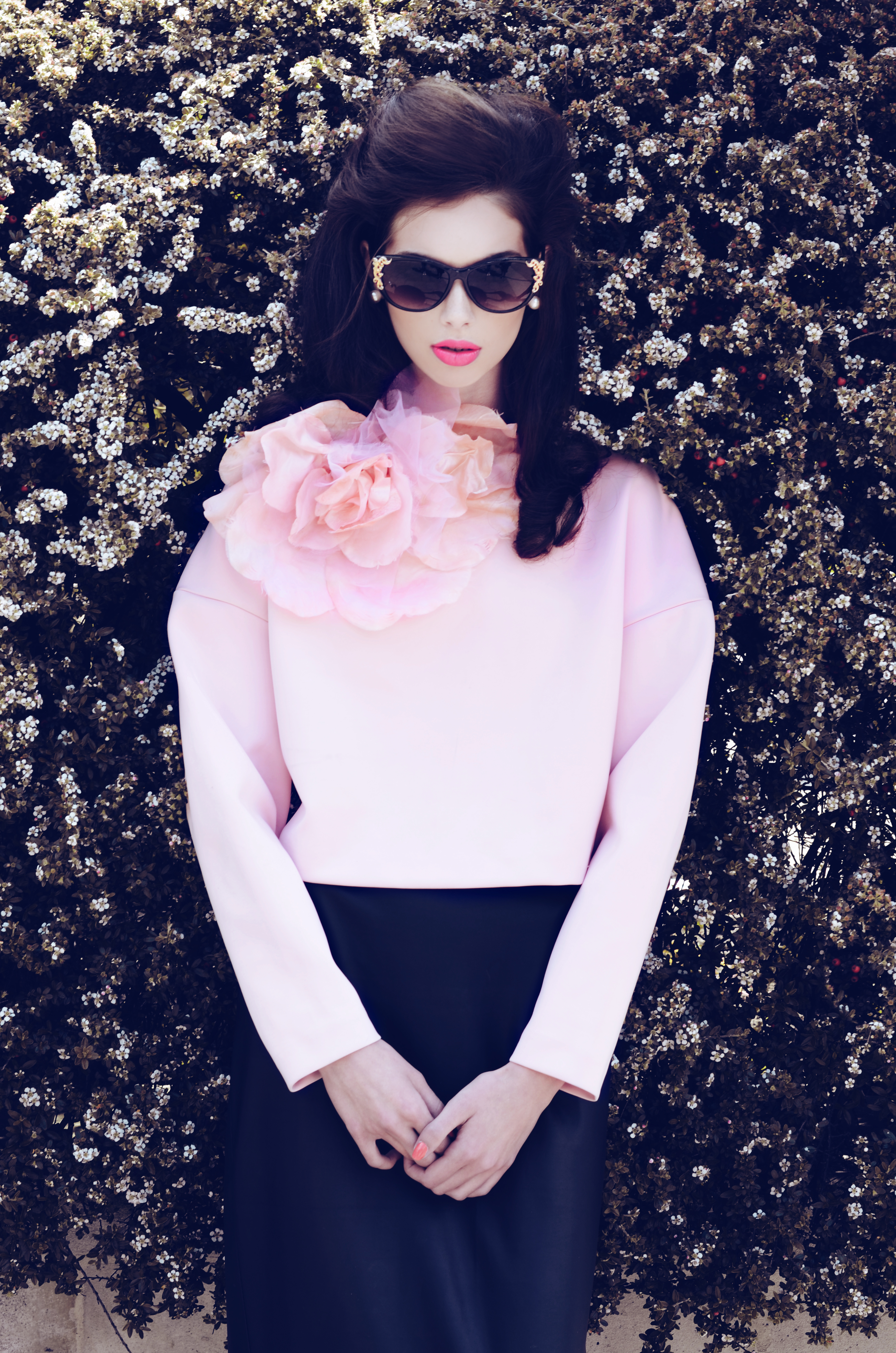 vintage retro fashion editorial lana del rey h&m AQ by AQ