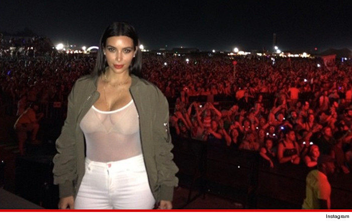 kim Kardashian boobs bonaroo bodysuit instagram Kanye west style outfit get the look