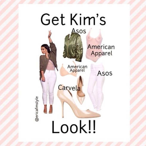 Kim Kardashian Bonnaroo Arts And Music Festival look kanye west get the look style clothing