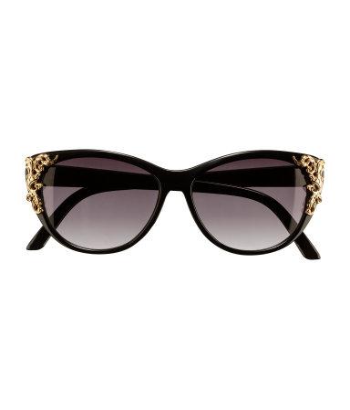 H&M Cat eye sunglasses embellished beyonce jennifer lopez rihanna rita or style shades