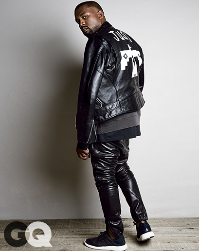 Fashion Mcm Kanye West For Gq Magazine Man Crush Monday