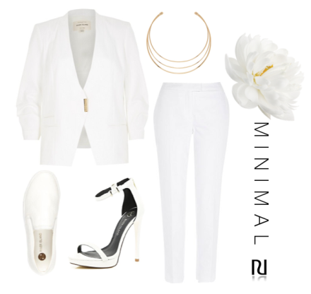 Rihanna British fashion awards miley cyrus kim kardashian taylor swift blank space white suit two piece androgyny minimal river island get the look christmas party outfit new years even outfit idea