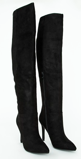 kylie jenner style makeup thigh knee high boots get the look missguided