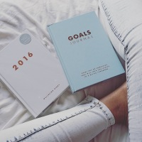 goals journal and wellbeing diary