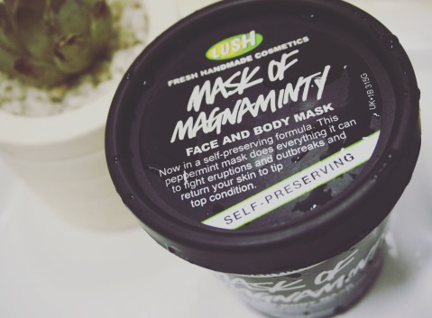 Lush cosmetics Mask of magniminty review